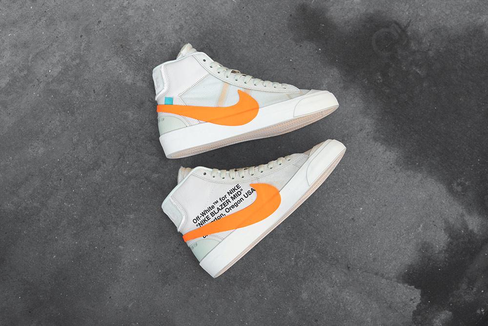 OFF WHITE x Nike Blazer Mid Pack Blog 3 Footpatrol Blog