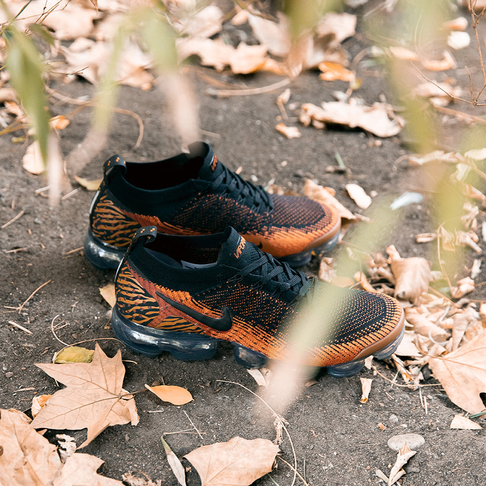 4df327c2f044 The Nike Air VaporMax FK 2.0 Safari Pack  Tiger  will be available Friday  2nd November