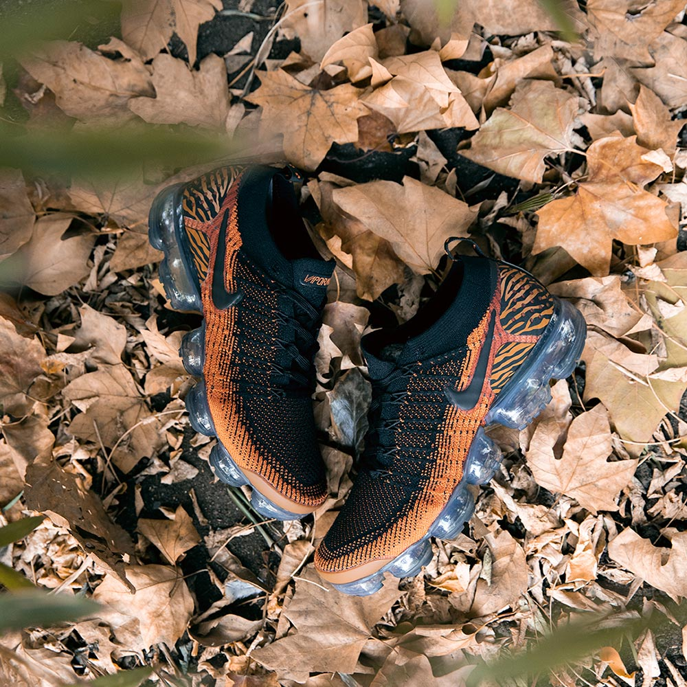 Elemental continuar preocuparse  Nike Air VaporMax Flyknit 2.0 Safari Pack 'Tiger' | Now available -  Footpatrol Blog