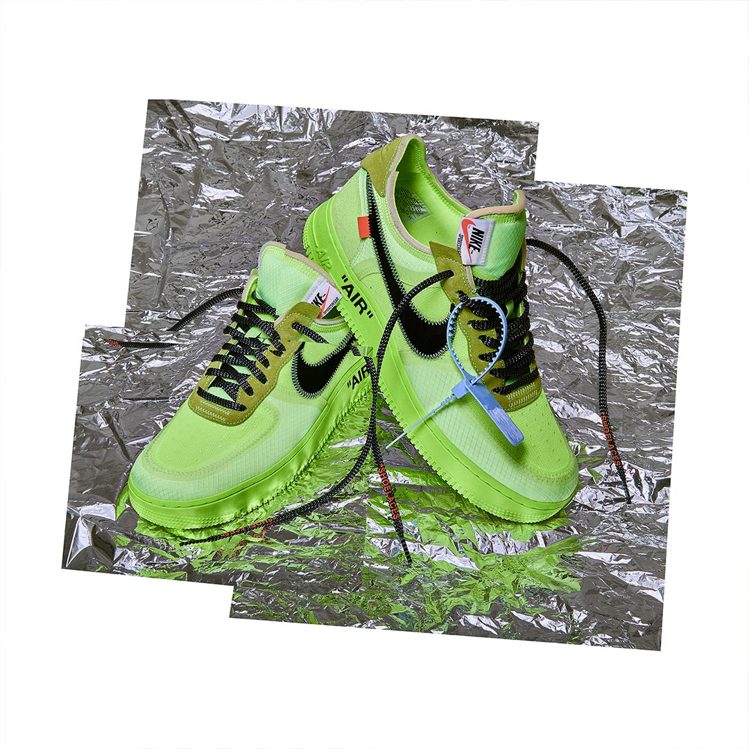 innovative design 68ecd d397f Nike x OFF WHITE Air Force 1 'Black' and 'Volt' | RAFFLE NOW ...