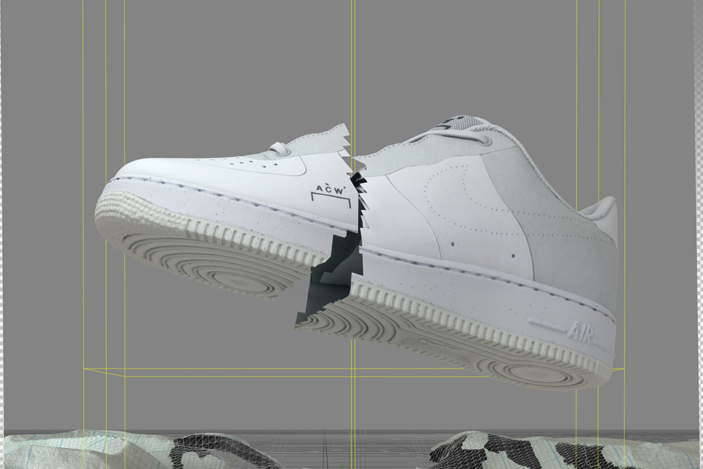 A-COLD-WALL* x Nike Air Force 1 | SOLD-OUT