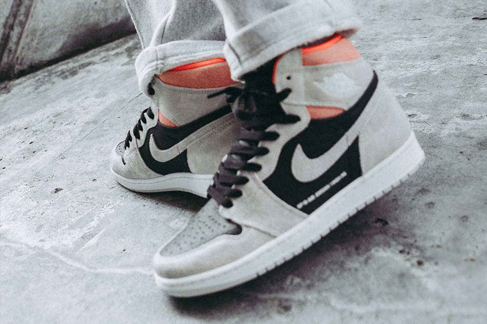 107ac70e550 The Air Jordan 1 Retro High OG 'Neutral Grey/Hyper Crimson' | Launching  in-store and online on Thursday 24th January (available online at 8:00AM  BST).