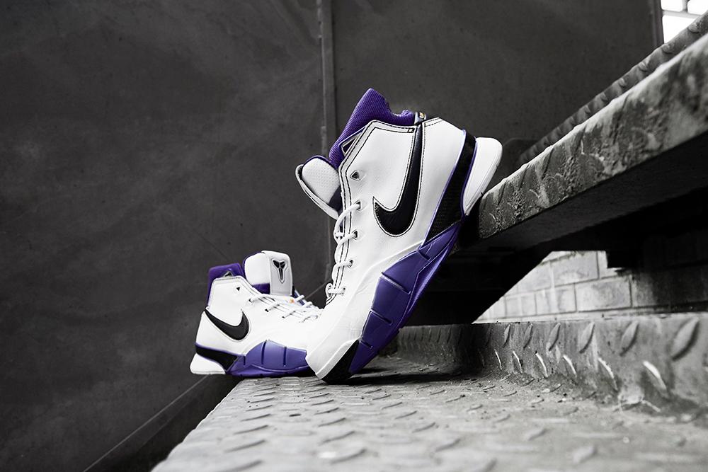 Nike Zoom Kobe 1 Protro 'White/Court Purple' | Now Available
