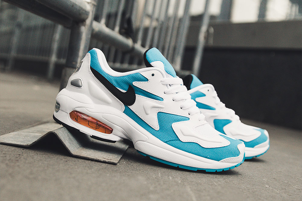 Nike Air Max2 Light 'Blue Lagoon/White' | Now Available