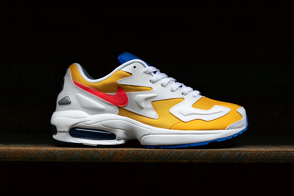 Nike Air Max2 Light 'University Gold/Flash Crimson' | Now available