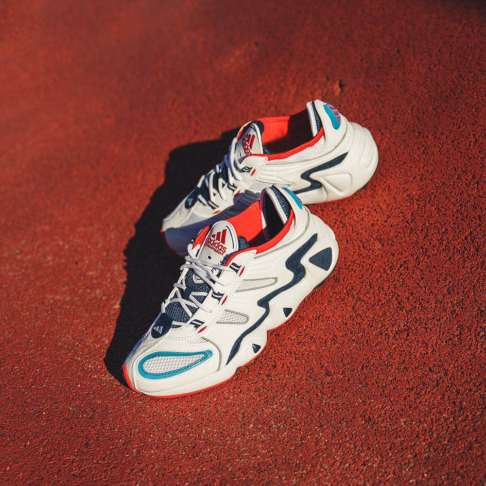 noi stessi Oh avere  adidas Consortium FYW-97 'Running White/Red' | Now Available - Footpatrol  Blog