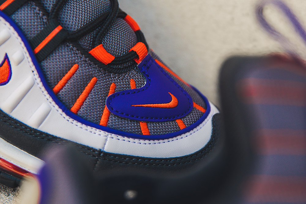 Nike Air Max 98 'GunsmokeTeam Orange' | Now Available