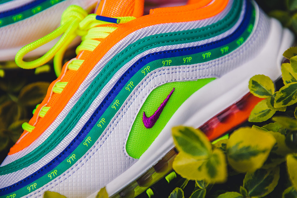 super popular 5b51e 8e52f Nike Air Max 97 By Jasmine Lasode  London Summer of Love  is now SOLD OUT.