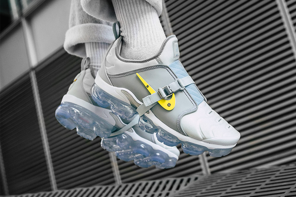 detailing 35582 8afb6 The Nike Air VaporMax Plus By Lou Matheron is Now Available online and  Footpatrol Paris. Sizes range from UK6 – UK12 (including half sizes),  priced at £190.