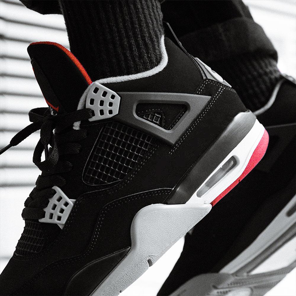 87ed2815577 Air Jordan 4 'Bred' | Now Available - Footpatrol Blog