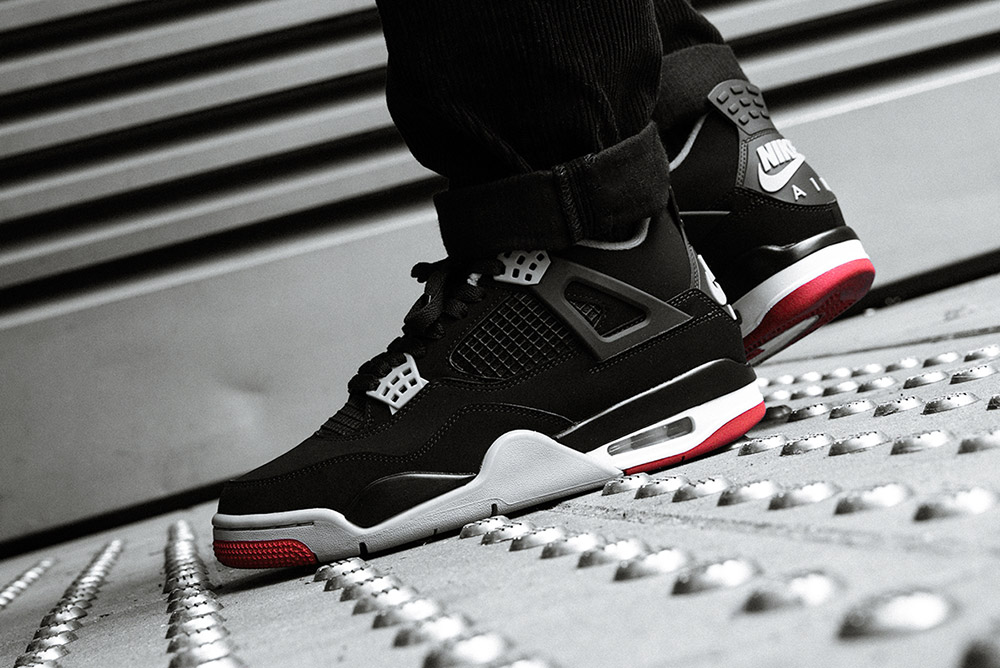 Air Jordan 4 'Bred' | Now Available