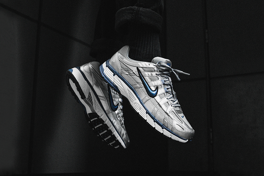 Nike P-6000 'Metallic Silver/Laser Blue' | Now Available