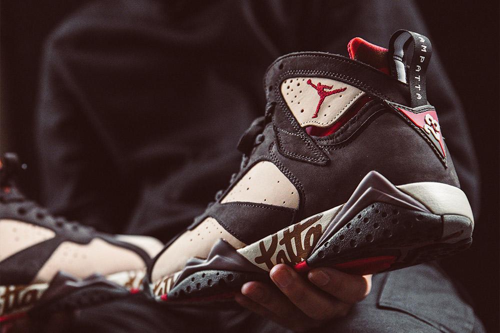 Patta x Air Jordan VII OG SP 'Shimmer/Velvet Brown'| SOLD OUT