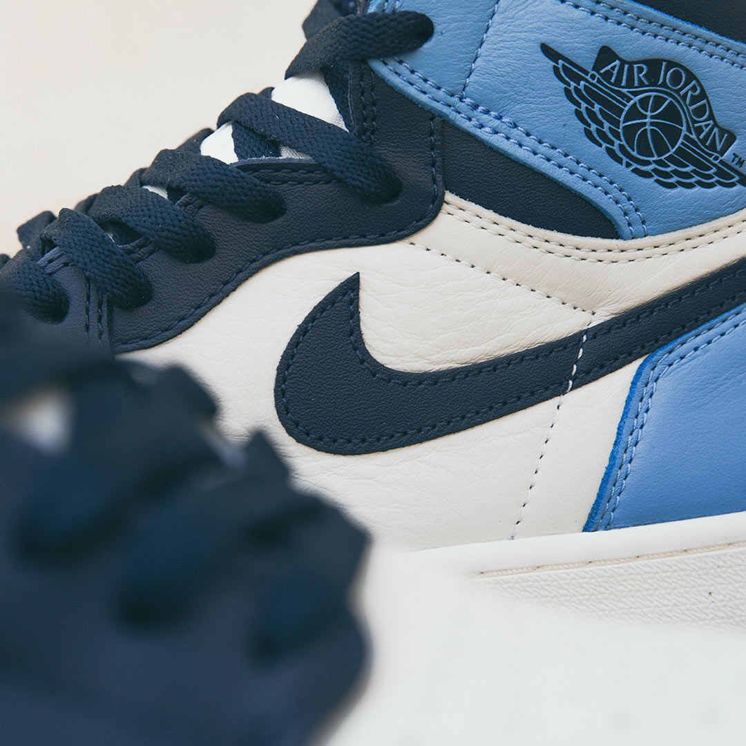 photos officielles 096da 159c6 Air Jordan I OG High 'Obsidian/Sail' | Raffle closed ...
