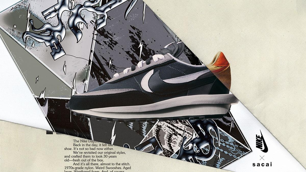sacai x Nike LDWaffle Racer | RAFFLE RELEASE