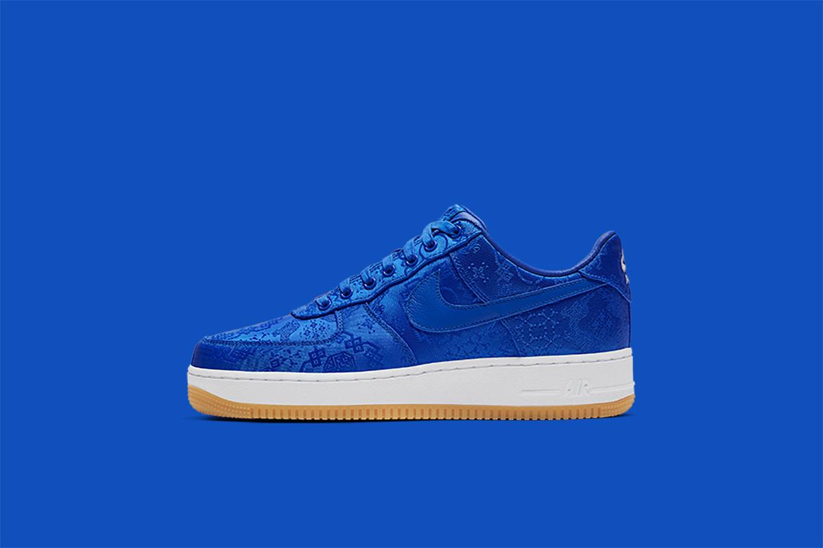 Nike x CLOT Air Force 1 Premium 'University Blue' | Raffle CLOSED