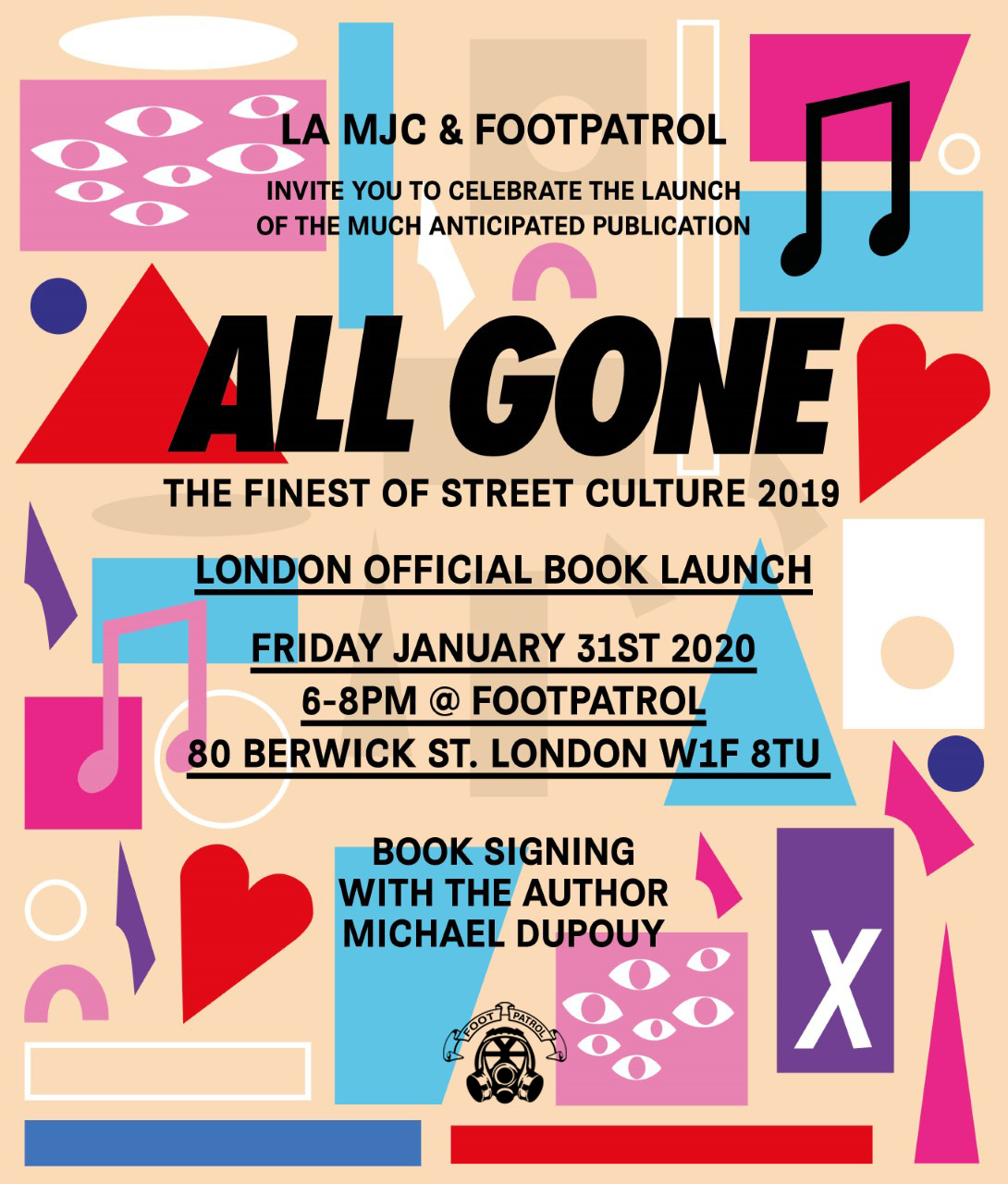 All Gone 2019 Book Signing with Michael Dupouy