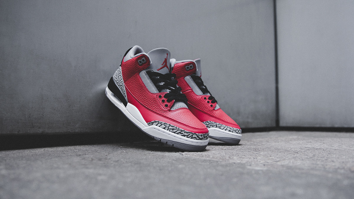 Air Jordan III SE 'Fire Red/Cement Grey' | Now Available