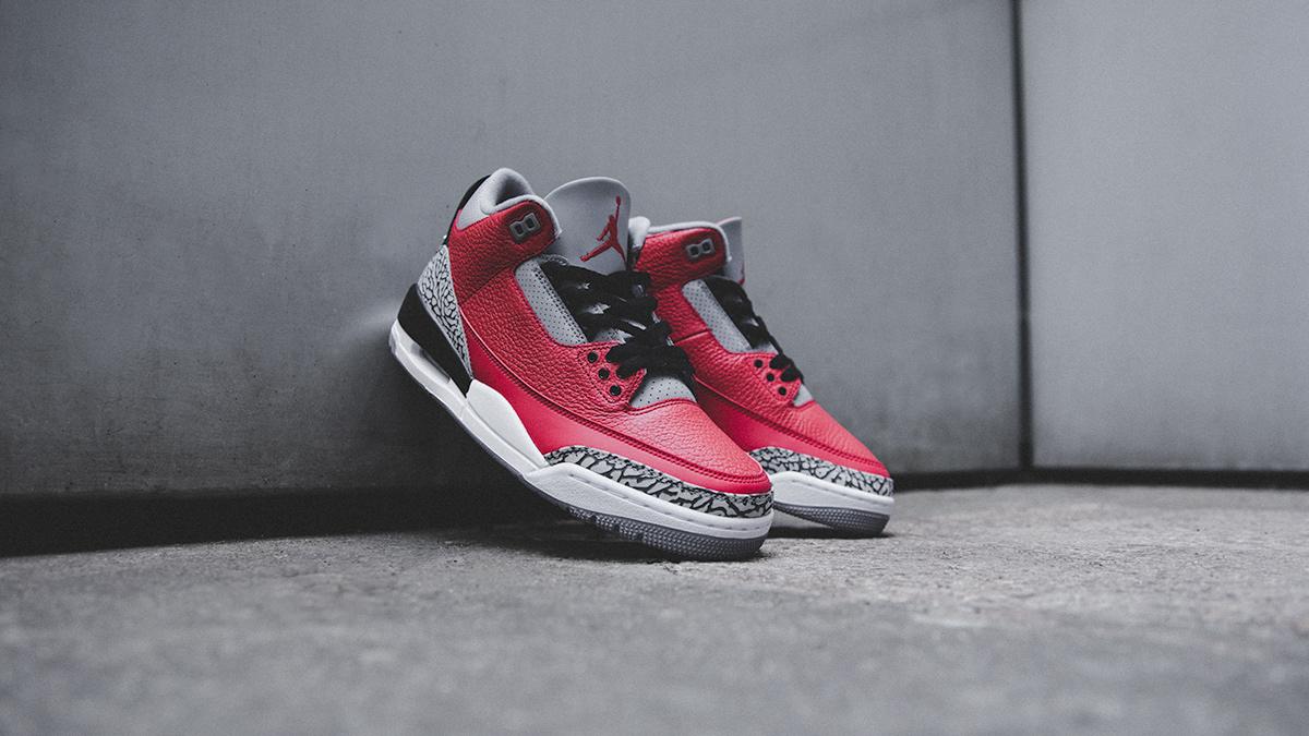 Air Jordan III SE 'Fire Red/Cement Grey' | Coming Soon