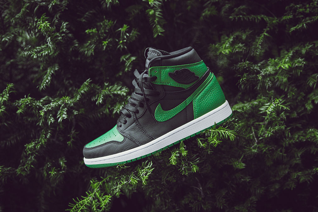 Air Jordan I OG High 'Black/Pine Green' | Raffles Closed