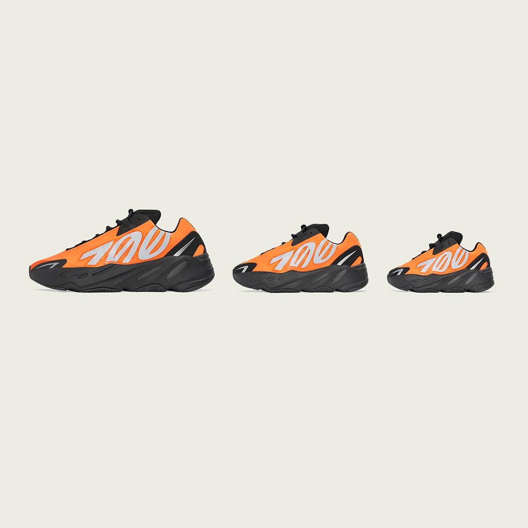 adidas YEEZY BOOST 700 MNVN 'Orange' | Raffles Closed!