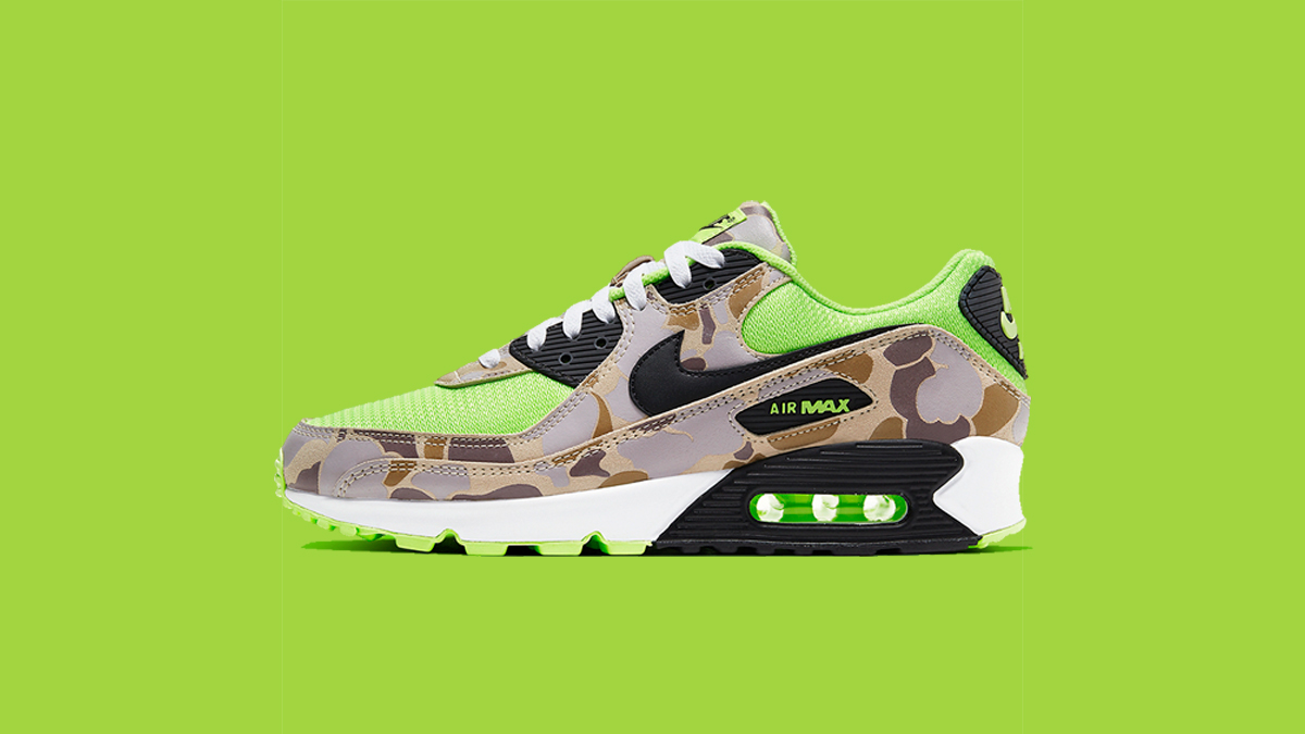 Nike Air Max 90 'Green Camo' | Raffle Closed!