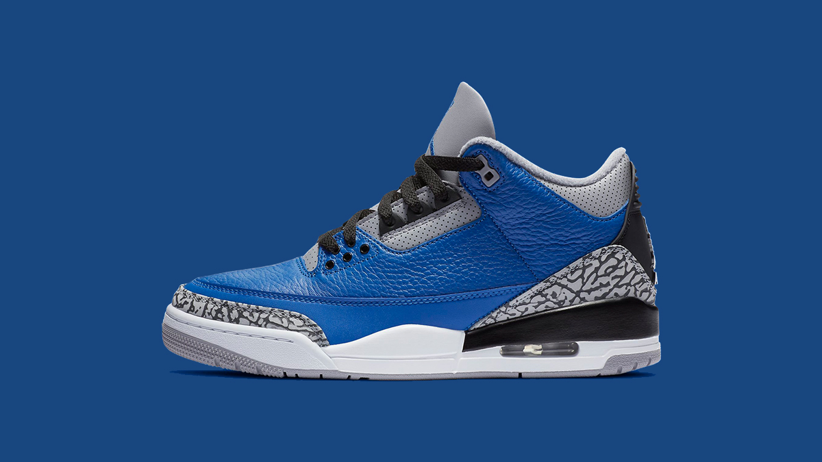 Air Jordan III 'Varsity Royal' | Raffle Closed!