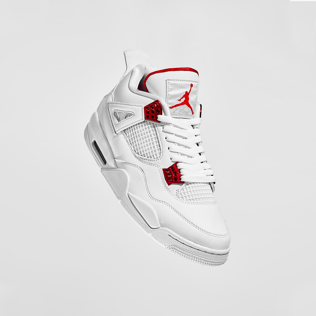 Air Jordan IV Retro 'Red Metallic' | Raffle Closed!