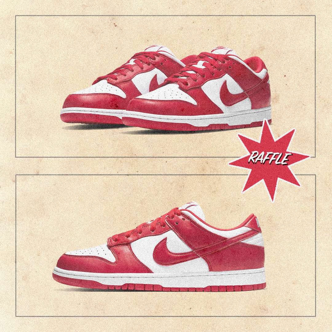 Nike Dunk Low SP 'University Red' | Raffle Closed!