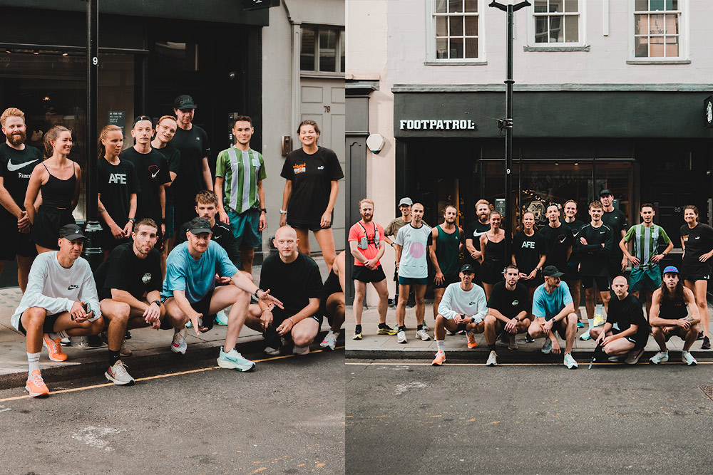 Footpatrol x Your Friendly Running Club | Event Recap