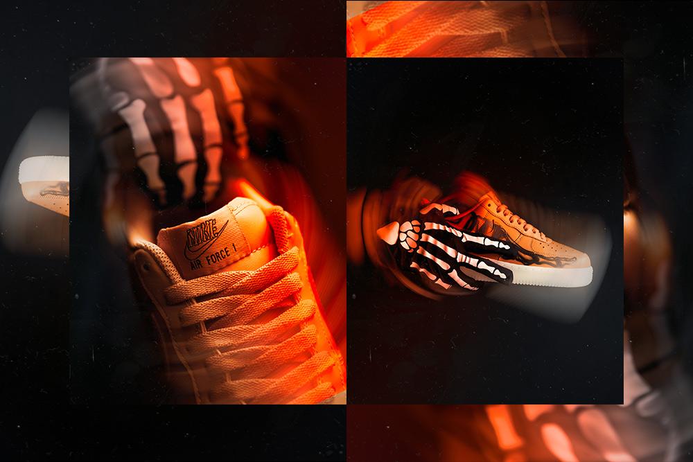 Nike Air Force 1 'Orange Skeleton' | Raffles Closed!