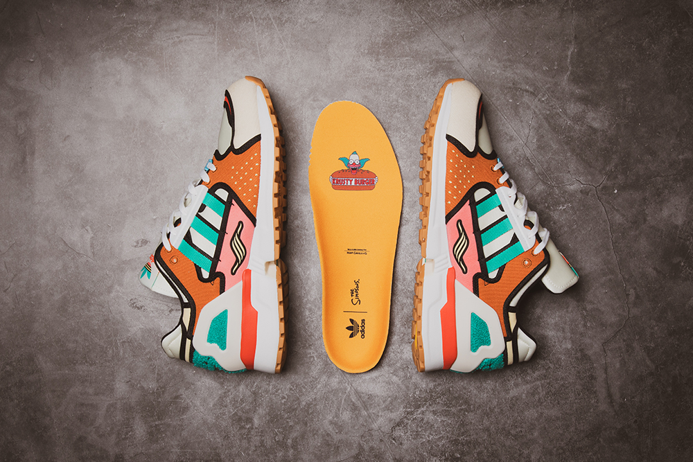 adidas Originals ZX 1000 C x The Simpsons 'Krusty Burger' | Sold Out!
