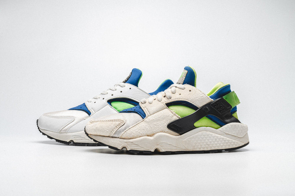 Morprime IndustriesTm and FOOTPATROL presents: Hua-story, Tinker's Air Huarache from then until now!