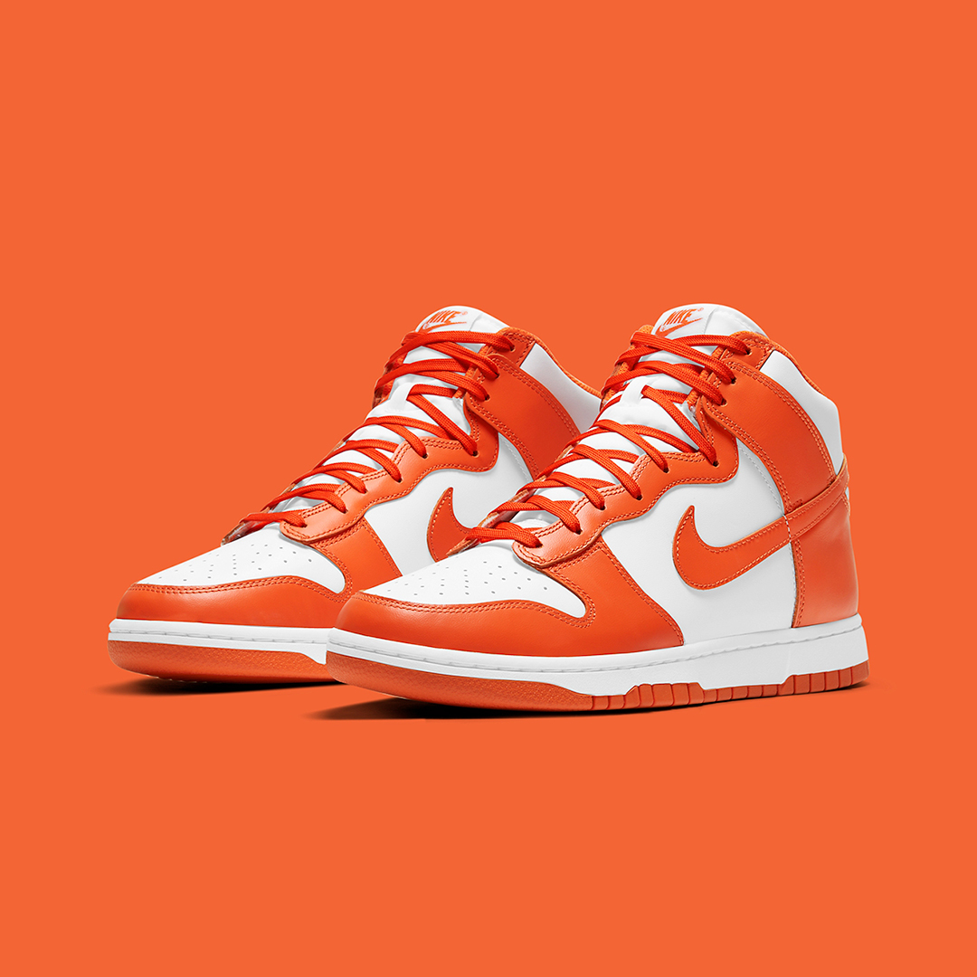 Wmns Nike Dunk High 'White/Orange Blaze' | Raffle Closed!