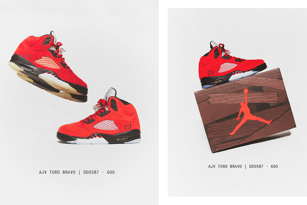 Air Jordan V 'Toro Bravo' | Raffle Closed!