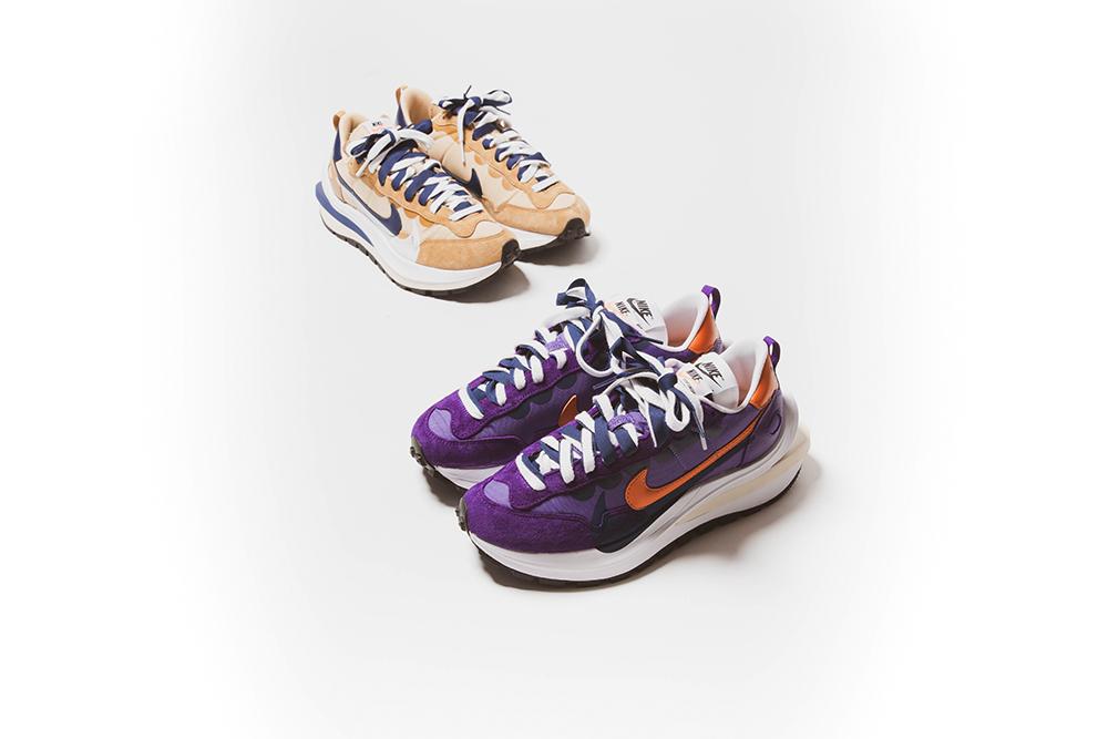 Sacai x Nike Vaporwaffle 'Dark Iris' & 'Sesame' | Raffles Closed!