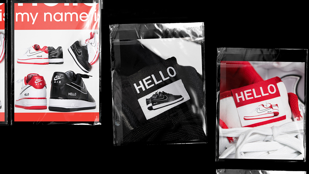 Nike Air Force 1 'Hello' | Coming Soon!