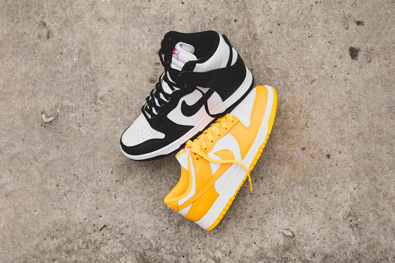 WMNS Nike Dunk Low 'Laser Orange' & High 'Panda' | Raffle Closed!