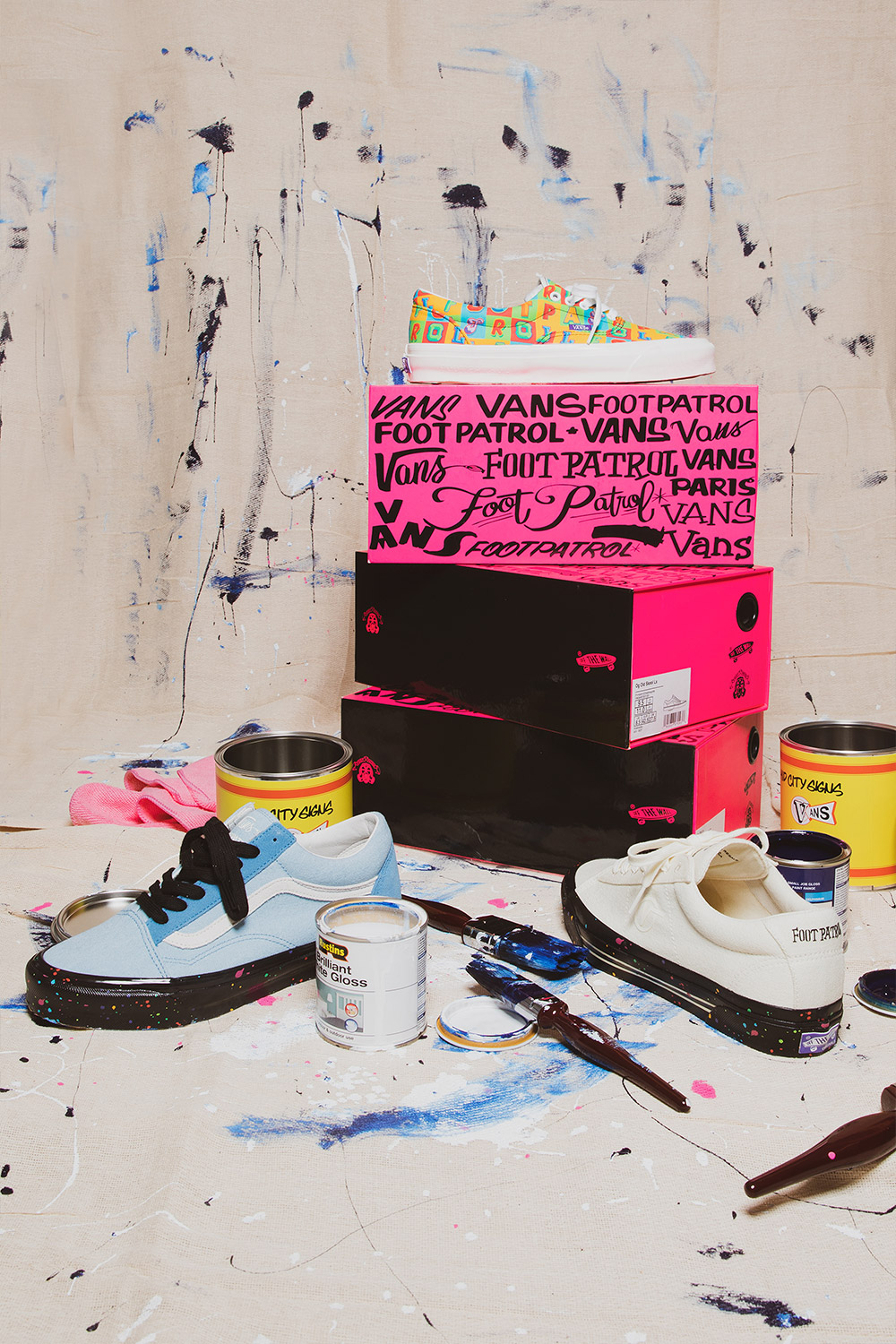 Mid City Signs x Vault by Vans x Footpatrol   Now Available!